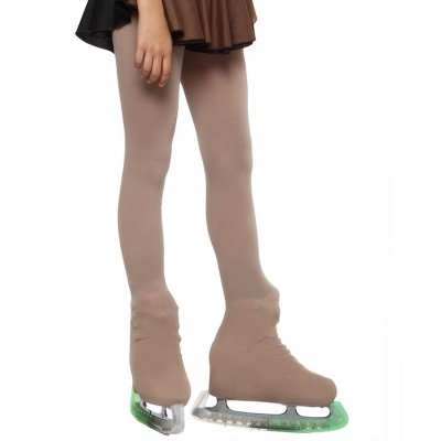 Cover the boots tights tanned colour