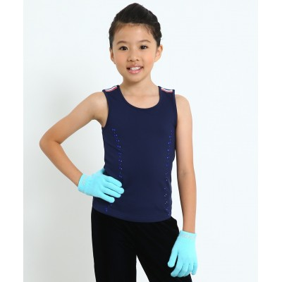 Royal highness blue practice tank top