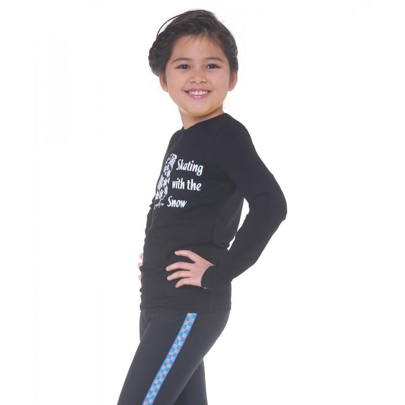 Classic XAMAS Snowflake Skate Long Sleeve Tee
