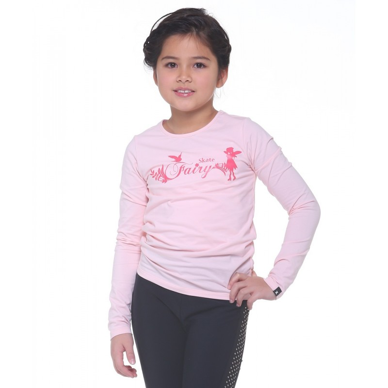 Skate fairy magical long sleeve daily skating tee - Pattern D