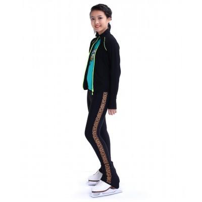 花样滑冰裤,包鞋,长