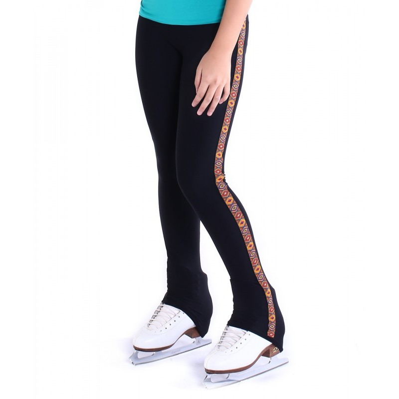 Over the heel figure-skating pants - Pattern A