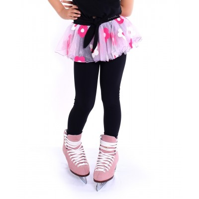 Premium Pro Skating Pants with Flower Skirt