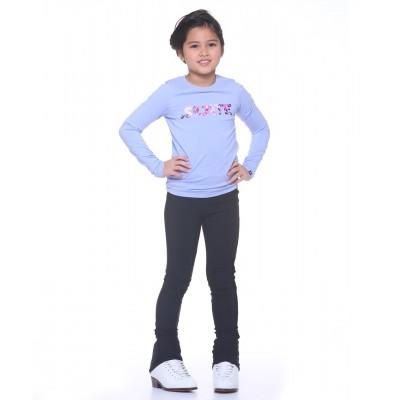 花样滑冰训练裤 - 包鞋 - 4向弹力拉绒尼龙氨纶