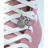 Dolphin pendant - skating boots shoe lace set