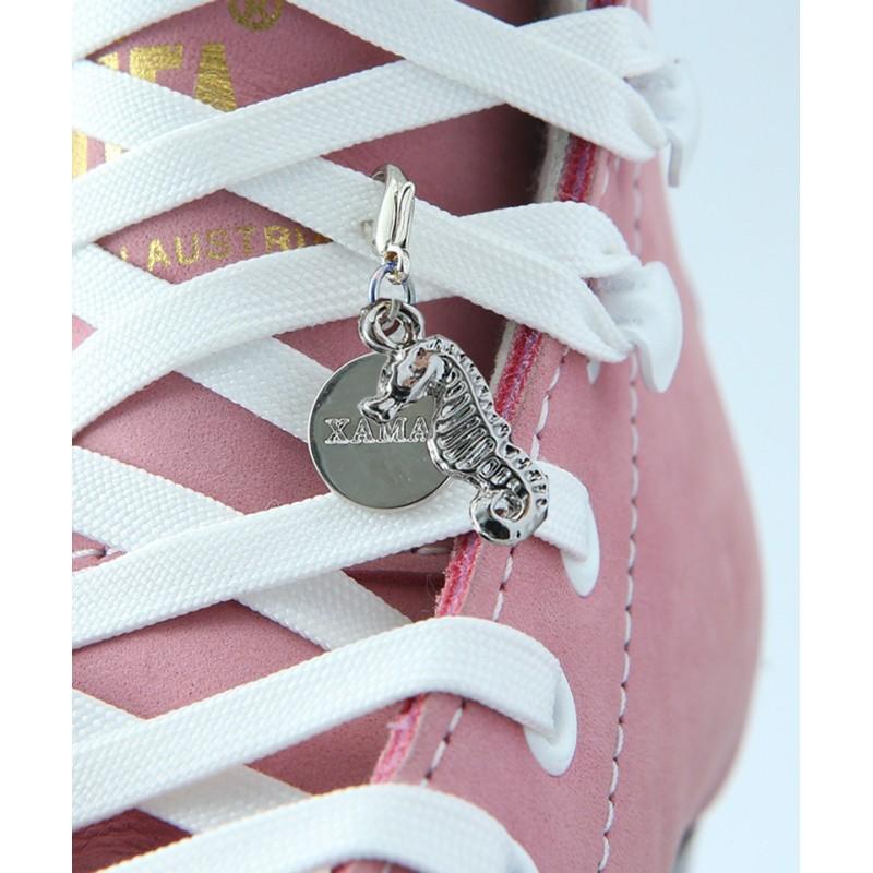 Seahorse pendant - skating boots shoe lace set