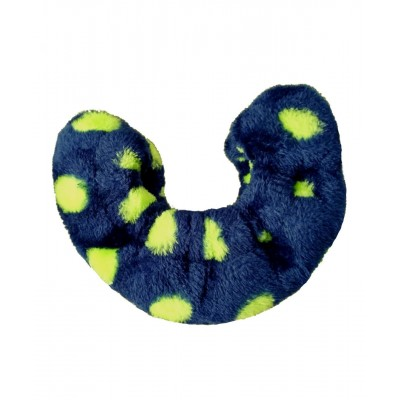 Funky prints blade cover - figure skating - Royal Blue Yellow Dots