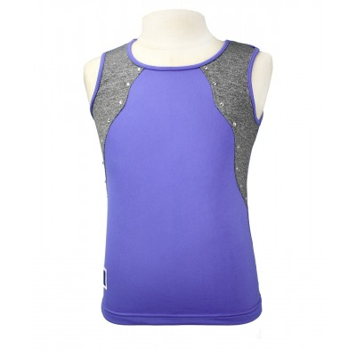 Trendy Pro XAMAS Purple Queen Training Top - Purple Glitter