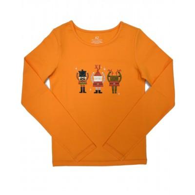 小童长袖T恤, 图案 F