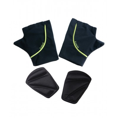 Premium Pro Padded Ice Skating Mittens - Black