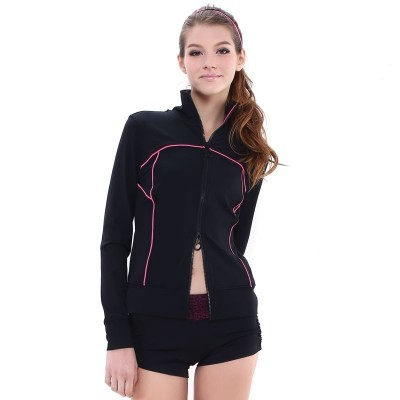 Sports jacket - black - long-sleeved 1