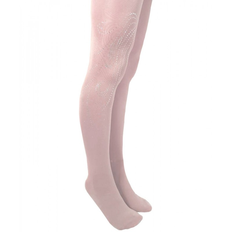 Trendy Pro XAMAS Silk Touch OTH Silver Swirl Stockings