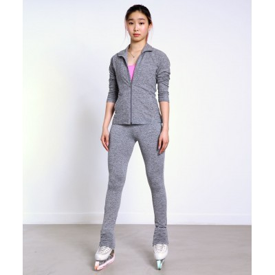 Soft-touch skater heel cover practice pants - French inspiration