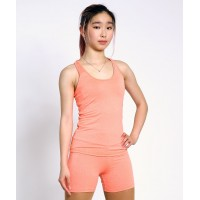 Off-ice training quick-dry skater tank top - shelf bra