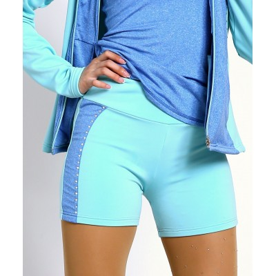 Trendy Pro XAMAS Butterfly Skater Shorts - Blue