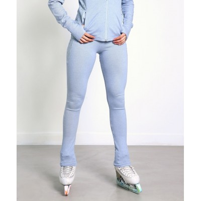 Trendy Pro XAMAS Vintage French Lace Skating Pants - Baby Blue