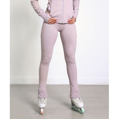 Trendy Pro XAMAS Vintage French Lace Skating Pants - Dusty Pink