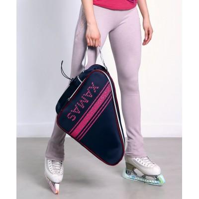 Premium Pro XAMAS De Luxe Skate Bag - Royal Blue Hot Pink Glitter