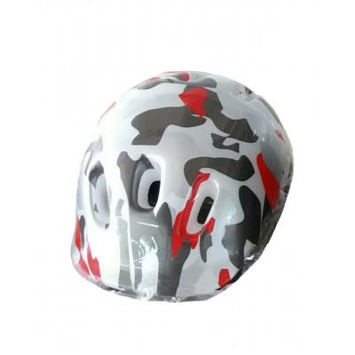 ABS滑冰用头盔 - 迷彩印花