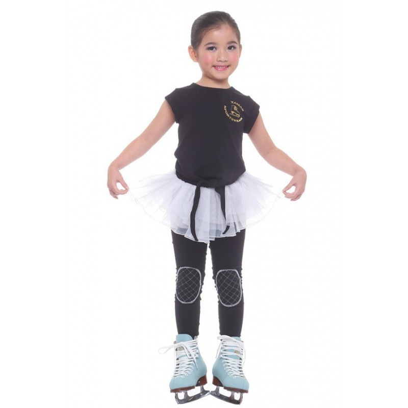高端展现 滑冰训练裤裙