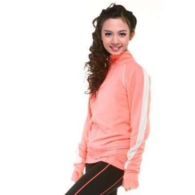 Sports jacket - long-sleeved - Coral