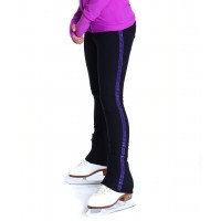 Trendy Pro XAMAS Purple Glitter Skating Pants