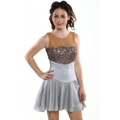 青春时尚 Evguenia 花样滑冰表演服比赛裙