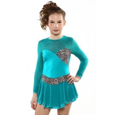 青春时尚 Felicia 花样滑冰表演服比赛裙