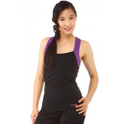 运动背心,黑色,紫色,文胸