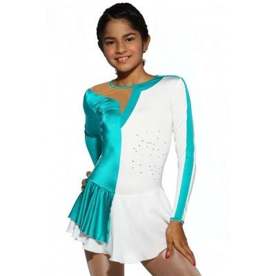 青春时尚 Megan 花样滑冰表演服比赛裙