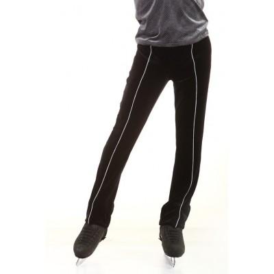 Figure skating pants - black - long - Black