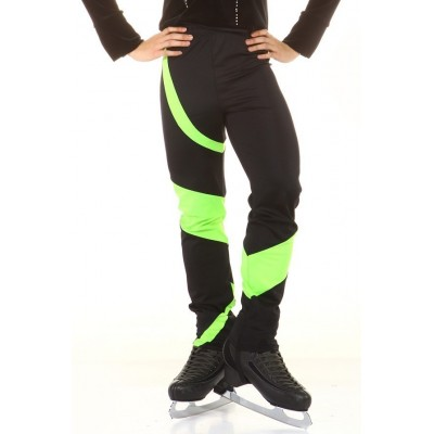 Classic Green Jocker Skating Pants - Black