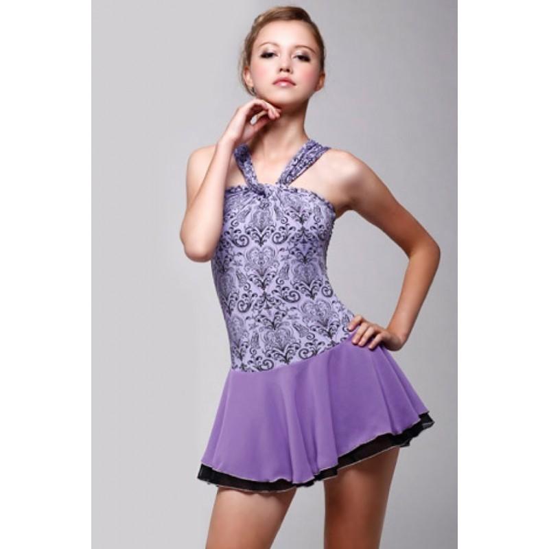 大众最爱 Sofia 花样滑冰表演服比赛裙