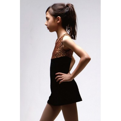 Figure skating dress 15 - Black