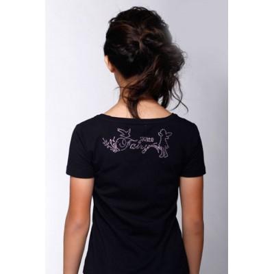 T恤,黑色