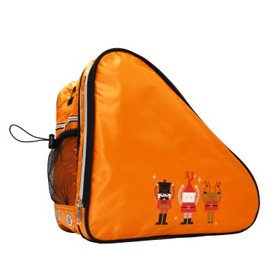 Limited edition festive print ventilated small skate bag