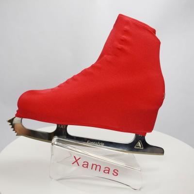 Lycra boot cover - figure skating - passion series - Red