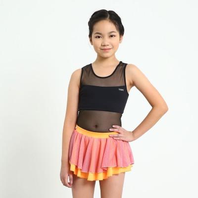 Trendy Pro Stardust Skating Skirt - Orange