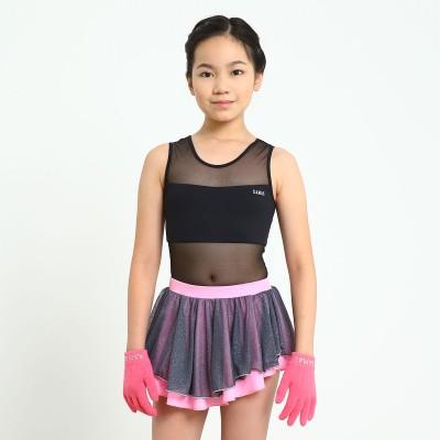 Trendy Pro Stardust Skating Skirt - Pink Glitter