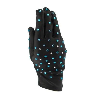 烫钻表演手套