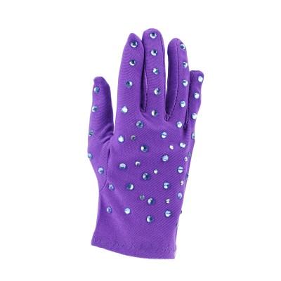 儿童烫钻表演手套