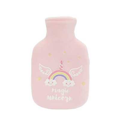 Magic Unicorn Hot Water Bag - Light Pink