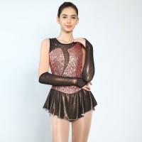 Trendy Pro Nicole Metallic Figure Skating Dress