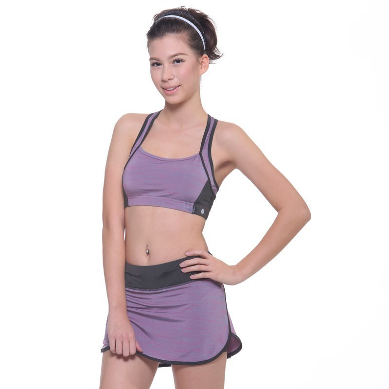 Sports skirt with inner shorts 2