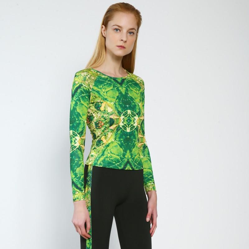 Trendy Pro XAMAS Green Agate Skating Top