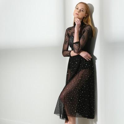 高端展现 XAMAS Stardust 芭蕾舞短裙 - 黑色
