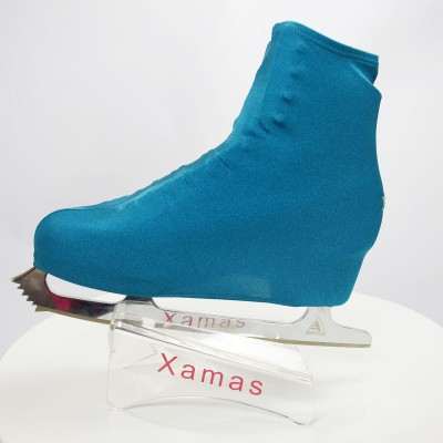 Lycra boot cover - figure skating - deep sea series - Aquamarine