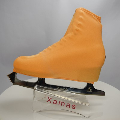 Lycra boot cover - figure skating - fluorescent series - Flu Orange