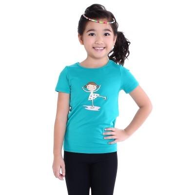 小童短袖T恤, 图案 D