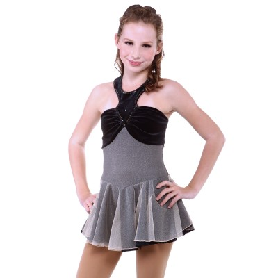 Trendy Pro Brianna Figure Skating Dress